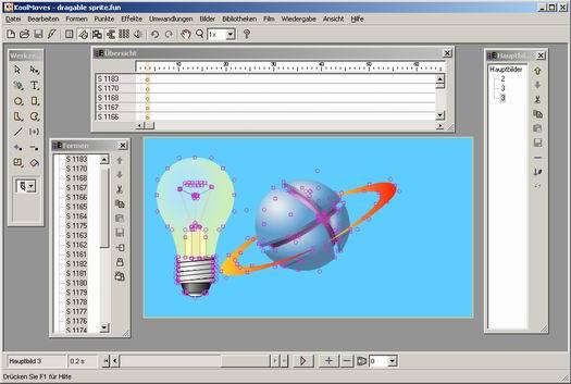 KoolMoves screenshot (resized)
