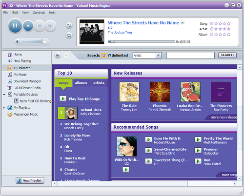 Yahoo Music Engine (kleiner)
