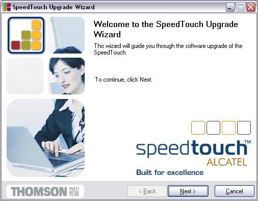 SpeedTouch 510 R4.2.7