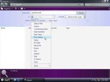 Windows Vista -- Zoekresultaten (kleiner)