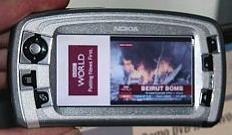 Nokia 7710 - nieuwsstream