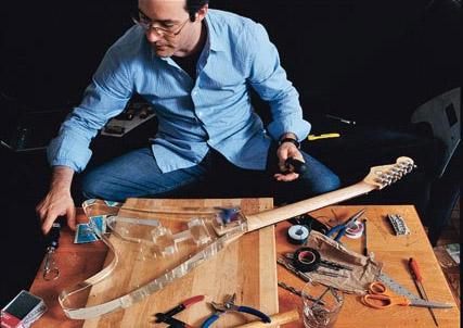 Wired-redacteur bouwt gitaar