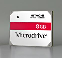 Hitachi Microdrive 8GB