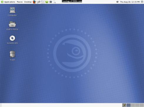 OpenSUSE Linux 10.0 OSS Beta 2 thumbnail