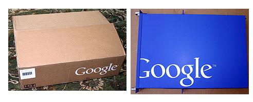 Google in een doos