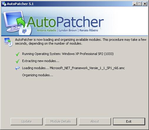 AutoPatcher XP Augustus 2005 NL