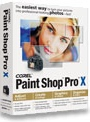 Paint Shop Pro X doos