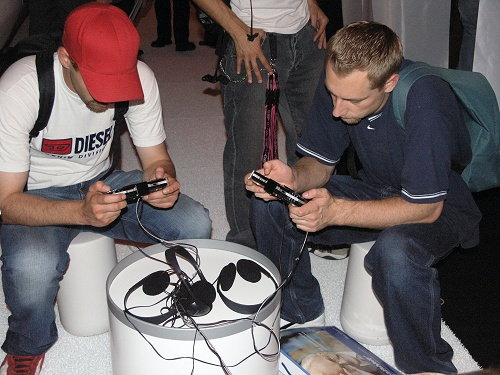 IFA 2005 - PlayStation Portable in Sony's lounge
