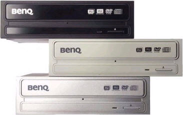 Stapel BenQ dvd writers