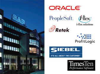 SAP vs Oracle en de overgenomen bedrijven