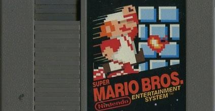 Super Mario Bros. 1 cartridge