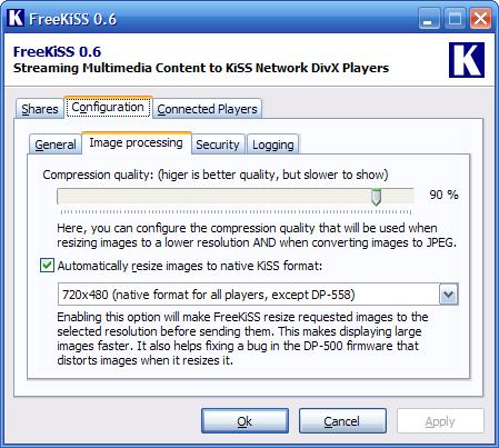FreeKiSS 0.6 screenshot