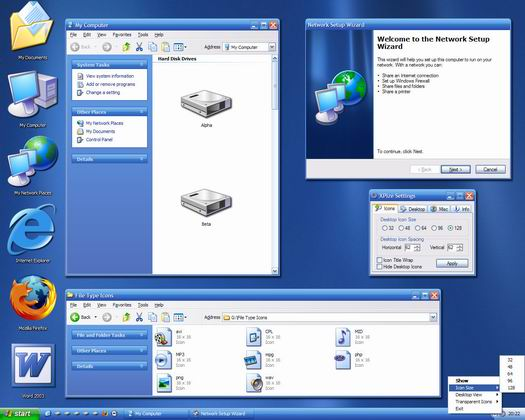 XPize 4.0 final desktop (resized)