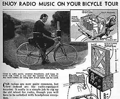 bike radio