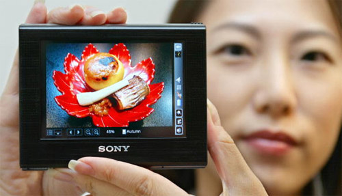 Sony Clie VZ-90 met OLED-scherm