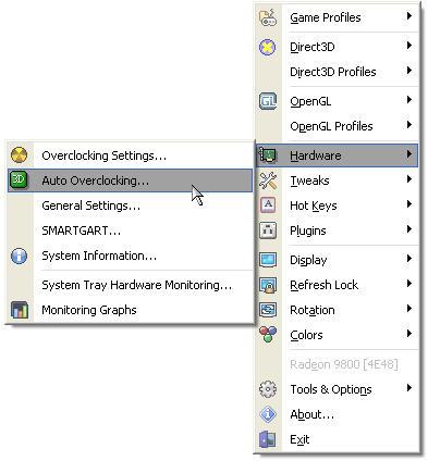 ATi Tray Tools 1.0.3.750 screenshot