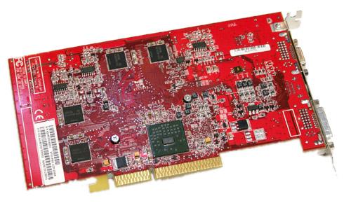 ATi X700 met Rialto-AGP-brug