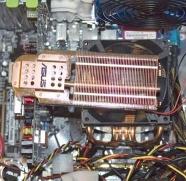 Asus N6600GT Silencer/HTD - gemonteerd
