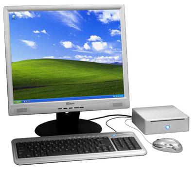 Aopen Pandora Mini PC compleet systeem