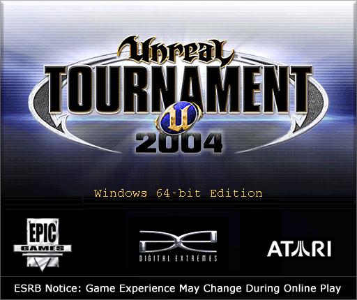 Unreal Tournament 2004 64-bit splash screen