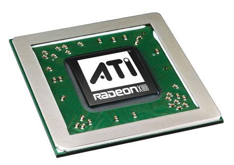 ATi Radeon X1800 chip