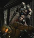 Quake IV - stoute Strogg
