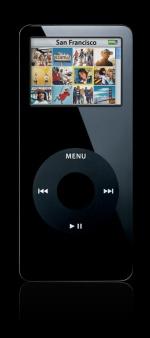 iPod nano - zwart