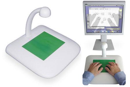 TactaPad model en werking