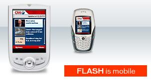 Flash op mobiele apparaten