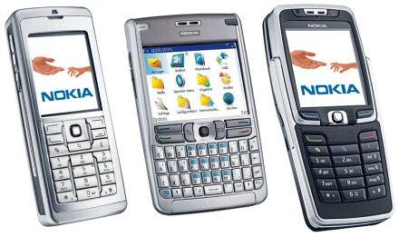 Nokia E60, E61 en E70