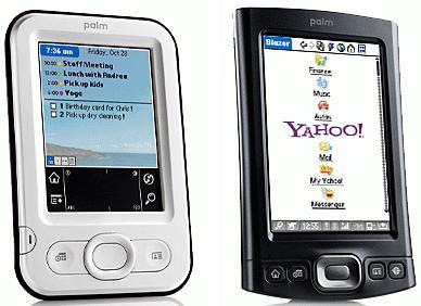 Palm Z22 en T|X