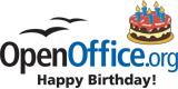 OpenOffice Verjaardag