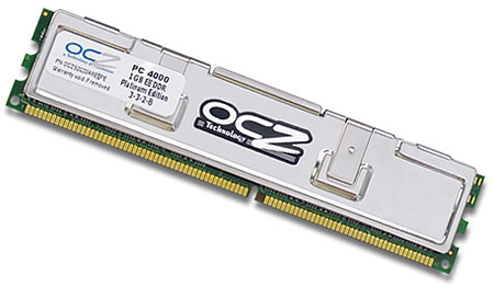 OCZ EB DDR PC-4000 1024MB Platinum Edition