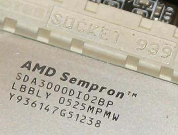 Socket 939 Sempron 3000+