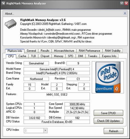 RightMark Memory Analyzer 3.6 (resized)