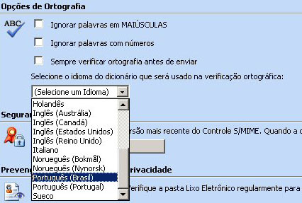 Exchange Server 2003 SP2 - Outlook Web Access met Portugese spellingscontrole (thumb)