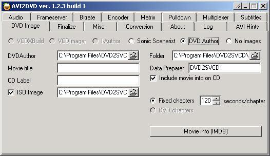 DVD2SVCD 1.2.3 build 1