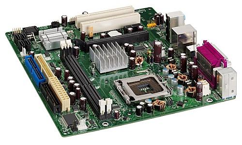 Intel D101GGC micro-ATX-moederbord met ATi Xpress 200 IGP