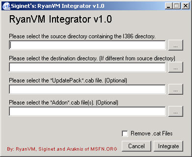 Software-update: RyanVM's Post-SP2 Update Pack 2 0