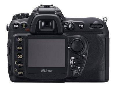Nikon D200 (achterkant)
