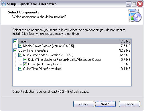 QuickTime Alternative 1.64