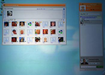 windows live messenger - screenshot