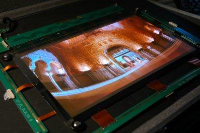 Geprint OLED-scherm