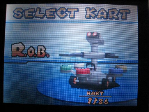 Mario Kart DS - Robotic Operating Buddy