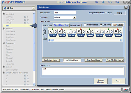 Screenshot Ergodex Manager (klein)