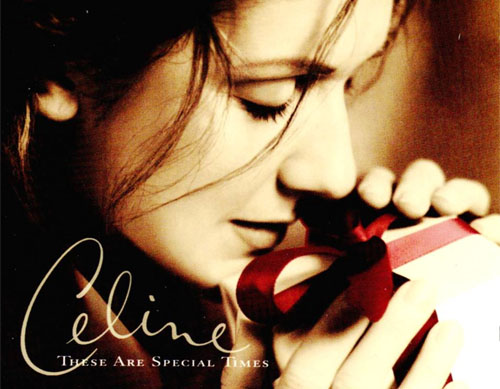 Sony BMG-artiest: Celine Dion - 'These Are Special Times'-cover