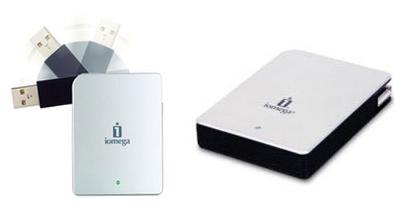 Iomega Micro Mini Hard Drive - met wegdraaibare usb-stekker