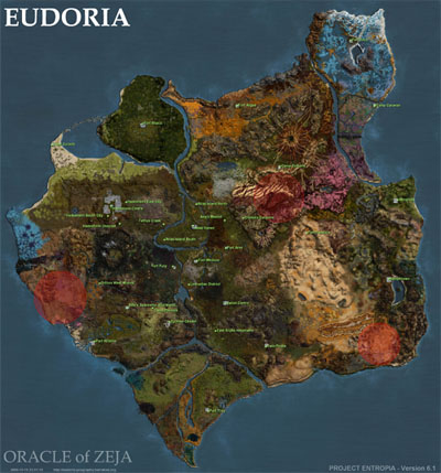 Project Entropia - Eudoria-eiland