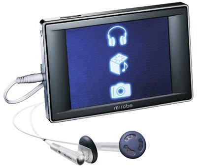 Olympus m:robe 500 mp3-speler annex compactcamera