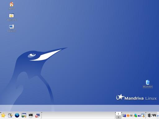 Mandriva Linux 2006 - desktop (klein)